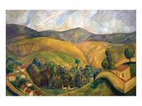 English Landscape Poster by Diego Rivera