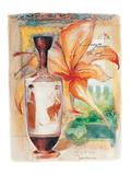 Greek Vase & Firelily Pósters por  Joadoor