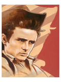 Rebell James Dean Poster von  Joadoor
