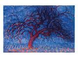 Piet Mondrian Red Tree 1908 Reproduction giclée Premium