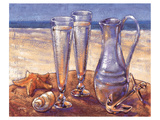 Sand Sun Sea Affiche par Bjoern Baar