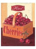 Red Cherrries Affiches par Bjoern Baar