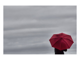 Schwartz - Little Red Umbrella Prints by Don Schwartz
