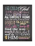 I Am a Child of God Prints by Jo Moulton