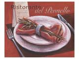 Ristorante Del Pennello Poster par Bjoern Baar