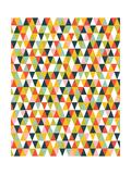 Alphabet Diamond Pattern Prints by Tamara Robinson