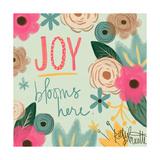 Joy Blooms Here Pósters por Katie Doucette