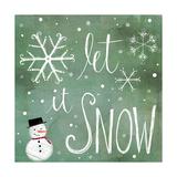 Let it Snow Affiches par Katie Doucette