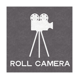 Roll Camera Affiche par Linda Woods