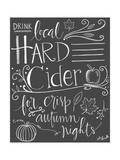 Hard Cider Plakat af Katie Doucette