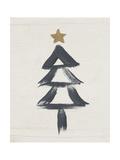 Black and Gold Tree II Stampe di Linda Woods