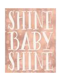 Shine Baby Shine Coral Bokeh Stampe di Tara Moss