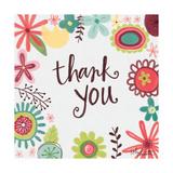 Thank You Floral Posters par Katie Doucette