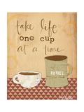 One Cup at a Time Affiches par Katie Doucette