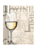 Vino blanco Pósters por Lisa Wolk