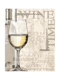 White Wine Prints by Lisa Wolk