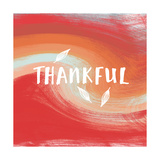 Thankful Affiches par Linda Woods