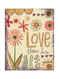Love Blooms Here Posters par Katie Doucette