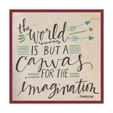 Canvas for the Imagination Poster di Katie Doucette