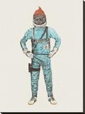 Zissou In Space キャンバスプリント : フローレント・ボダルト