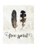 Free Spirit Watercolor Feathers Posters by Tara Moss