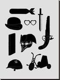2011 A Kubrick Odyssey キャンバスプリント : フローレント・ボダルト