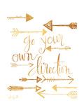 Richtung Giclée-Premiumdruck von Katie Doucette