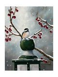 Chickadee in the Snow Posters par Julie Peterson