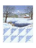 Delectable Mt. Quilt Scape Láminas por Julie Peterson