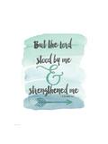 Strengthened Me Stampe di Jo Moulton