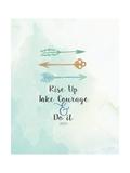 Take Courage Poster di Jo Moulton