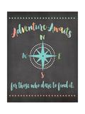 Adventure Awaits Pósters por Jo Moulton