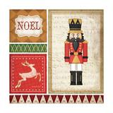 Nutcracker Noel Metal Print by Jennifer Pugh