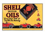 Shell Motor Oils-Every Drop Prints