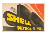 Shell Petrol & Oil Kunstdrucke