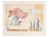 Slanted Flower Vase Posters by Renate Holzner