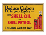 Shell Reduce Carbon Posters