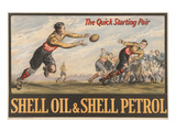 Shell Oil & Shell Petrol Affiches