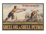 Shell Oil & Shell Petrol Poster