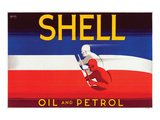 Shell Oil and Petrol Posters