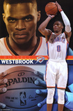 Oklahoma City Thunder- Russell Westbrook 2015 Posters