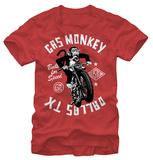 Gas Monkey- Monkey Moto T-shirts