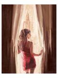 Wonderful View over N.Y. Premium Giclee Print by Talantbek Chekirov