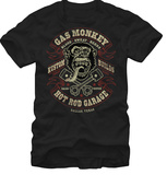 Gas Monkey- Blood Sweat Beers T-shirts