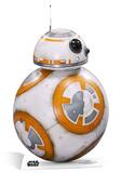 Star Wars Episode VII: The Force Awakens - BB-8 Silhouettes découpées en carton