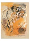 Wildlife Tiger Print by  Joadoor