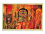 with the Eagle 1918 Kunst af Paul Klee