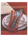 Trattoria La Spezia Affiches par Bjoern Baar