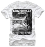 Gas Monkey- Super Charged T-shirts