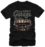 Gas Monkey- Flag Filled T-shirts